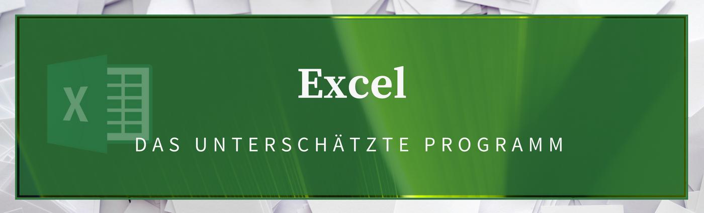 Excel Header Startseite