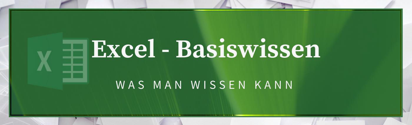Excel Basiswissen Header