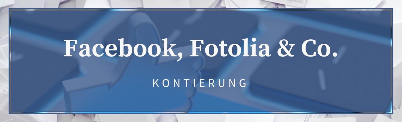 Buchung Facebook Fotolia Adwords